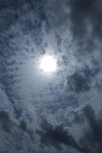 空一面に覆われた雲の写真素材 [FYI00174973]