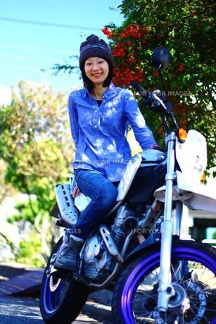 バイクが好きの写真素材 [FYI00174988]