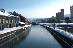 小樽運河の写真素材 [FYI00175167]