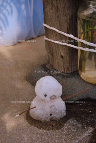 ひと時の冬の写真素材 [FYI00175197]