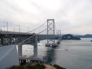大鳴門橋の写真素材 [FYI00175232]