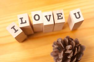 I LOVE Uの写真素材 [FYI00175549]