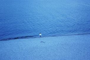 海と子供の写真素材 [FYI00175556]
