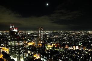 新宿からの夜景の写真素材 [FYI00175571]