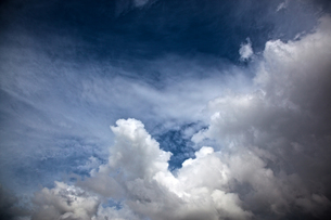 夏の雲の写真素材 [FYI00175578]