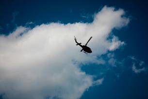 ヘリコプターの写真素材 [FYI00175596]