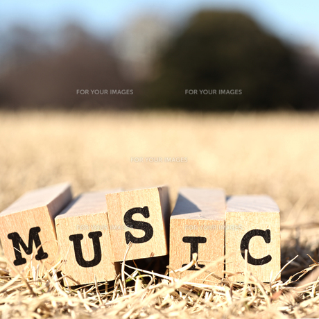 MUSICの素材 [FYI00175630]