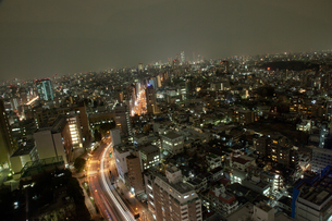 東京の夜景の写真素材 [FYI00175656]