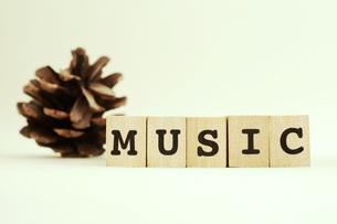 MUSICの写真素材 [FYI00175658]
