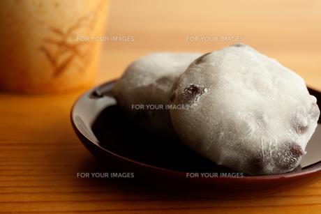 豆大福の写真素材 [FYI00175671]