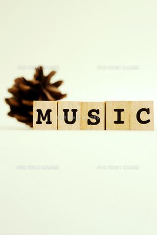 MUSICの写真素材 [FYI00175675]