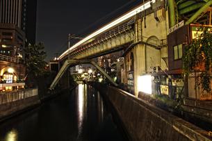 御茶ノ水周辺からの神田川の写真素材 [FYI00175795]