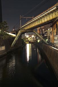 御茶ノ水周辺からの神田川の写真素材 [FYI00175800]