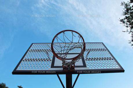 バスケットゴールの素材 [FYI00175805]