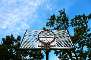 バスケットゴールの写真素材 [FYI00175806]