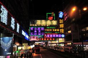 香港ストリートの写真素材 [FYI00175911]