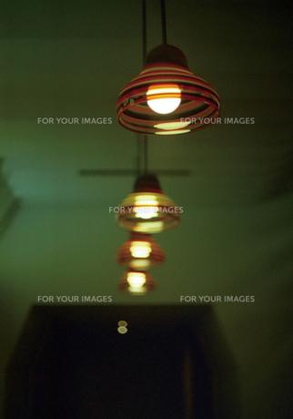レトロペンダントライトの写真素材 [FYI00175949]