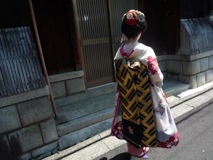 変身舞妓の写真素材 [FYI00175974]