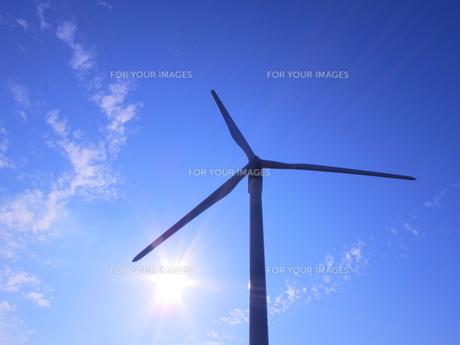 風車の素材 [FYI00176003]