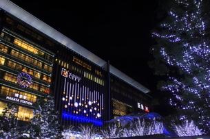 JR博多シティのイルミネーション夜景の素材 [FYI00176016]