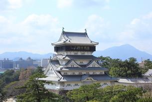 北九州市 小倉城の写真素材 [FYI00176063]
