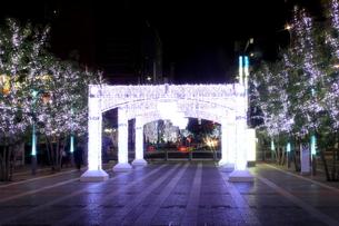 JR博多シティのイルミネーション夜景の素材 [FYI00176075]