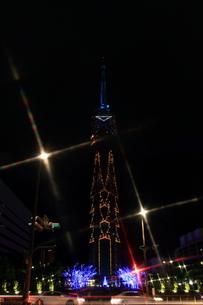 福岡タワーのクリスマスイルミネーションの素材 [FYI00176076]