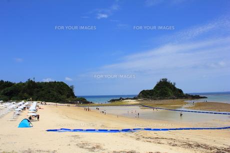 沖縄 かりゆしビーチの素材 [FYI00176110]