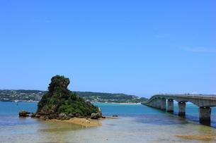 沖縄 古宇利大橋の素材 [FYI00176112]