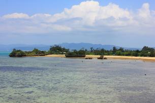 沖縄 古宇利大橋からの風景の素材 [FYI00176124]
