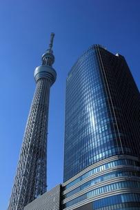 東京スカイツリーと東京ソラマチの写真素材 [FYI00176175]