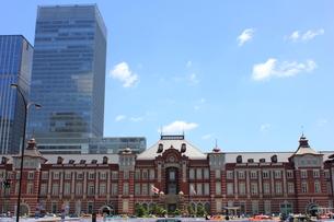 東京駅の写真素材 [FYI00176202]