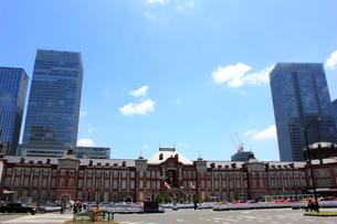 東京駅の写真素材 [FYI00176203]
