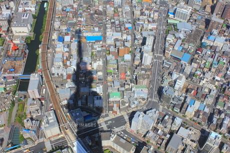 東京スカイツリーの陰の素材 [FYI00176206]