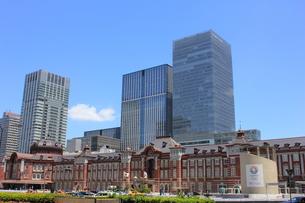 東京駅の写真素材 [FYI00176207]