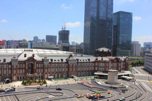 東京駅の写真素材 [FYI00176208]
