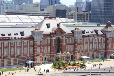 東京駅の素材 [FYI00176209]
