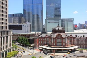 東京駅の写真素材 [FYI00176210]