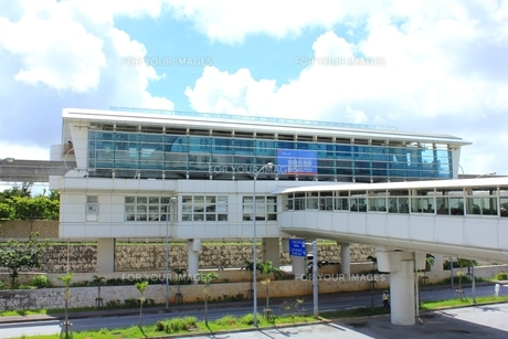 沖縄 ゆいレール那覇空港駅の素材 [FYI00176211]