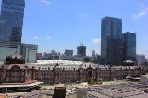 東京駅の写真素材 [FYI00176214]