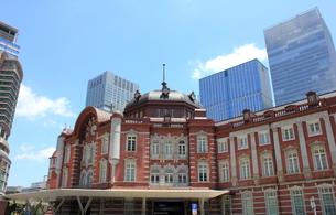 東京駅の写真素材 [FYI00176219]