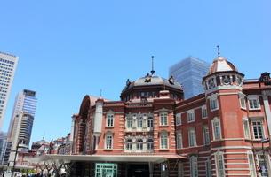 東京駅の写真素材 [FYI00176224]