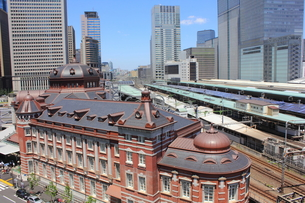東京駅の写真素材 [FYI00176231]