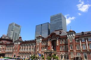 東京駅の写真素材 [FYI00176234]