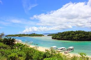 石垣島 川平湾の写真素材 [FYI00176247]
