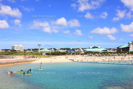 沖縄 トロピカルビーチの素材 [FYI00176350]
