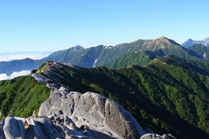 山の稜線の写真素材 [FYI00176415]