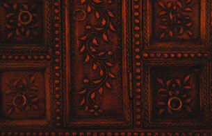 India Doorの写真素材 [FYI00176730]