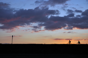 Morning Horizonの写真素材 [FYI00176735]