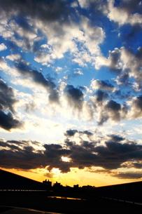 夕日Layer Part1の写真素材 [FYI00176745]